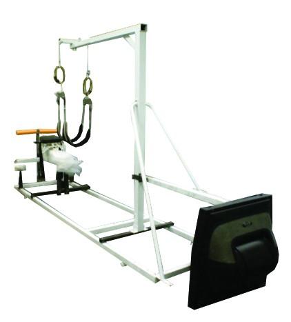 Тренажер максимальной нагрузки, имитирующий состояние пловца в воде