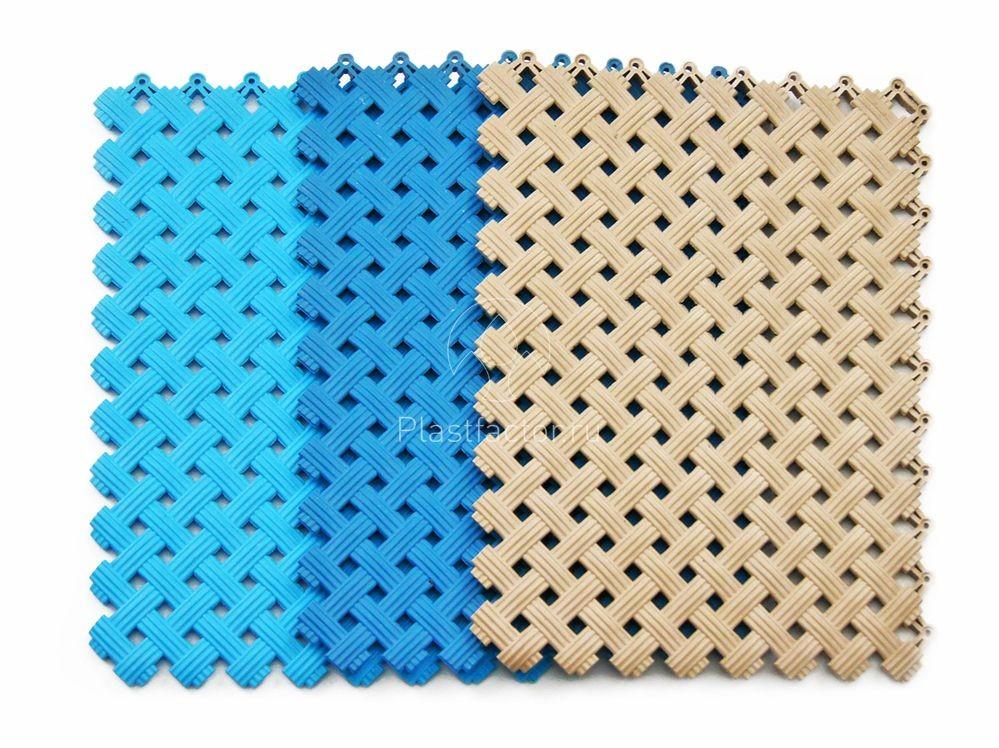 Модульное напольное покрытие Aqua