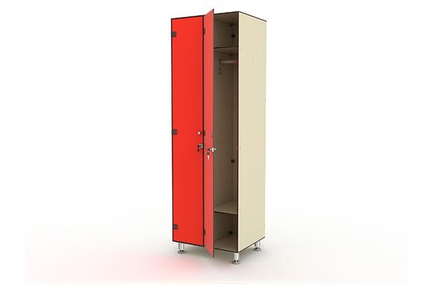 Шкаф двухсекционный одноярусный
