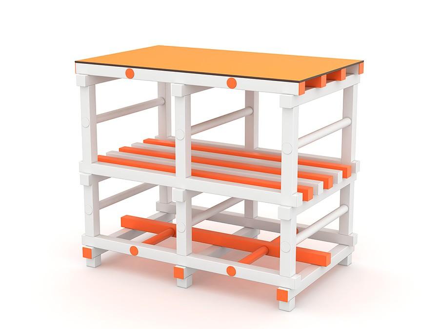 Пеленальный столик ПВХ