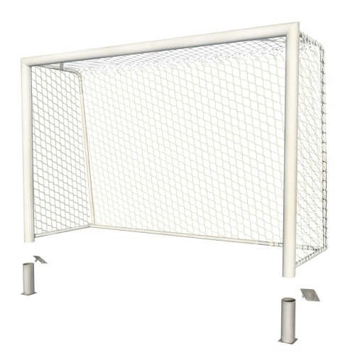 Ворота 3х2х1 стационарные (профиль 100х120)
